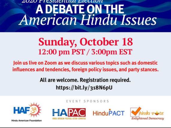 Presidential Debate Hindu Issues