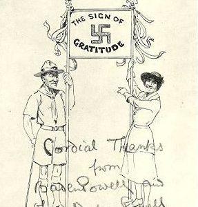 Scout Sign - Baden Powel