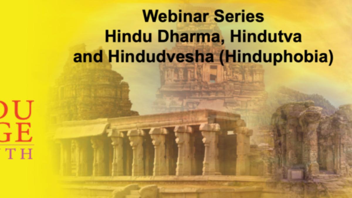 Hinduphobia webinar series 2021